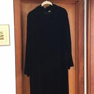 Eileen Fisher Velvet Dress L